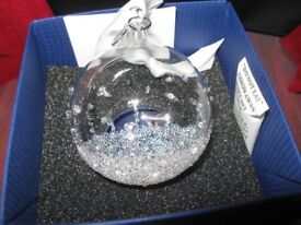 Swarovski Christmas Ball - small