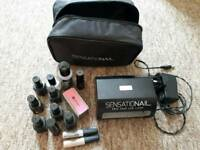 Sensational acrylic nail machine and colours