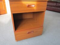SCHREIBER BEDSIDE CABINET two drawers