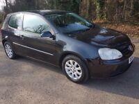 Volkswagen GOLF 1.9 TDi SE 3dr 2005 Diesel Hatchback BLACK Manual GENUINE LOW MILEAGE HISTORY.
