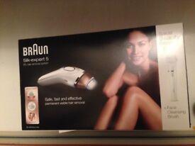Braun Silk Expert 5 IPL Special Edition with Face Brush