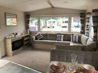 2 BED STATIC CARAVAN FOR SALE SITED AT CHERRY TREE HOLIDAY PARK NR GORLESTON GREAT YARMOUTH NORFOLK