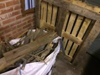 FREE WOOD - ONE PALLET AND LOTS OF OFF CUTS FROM DECKING - IDEAL FOR BURNING