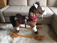 Rocking horse ride on (moving mouth and tail)