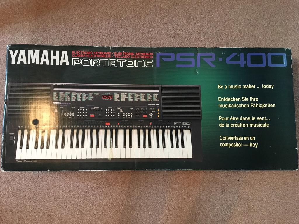 brand new yamaha portatone psr 400 electronic keyboard. Black Bedroom Furniture Sets. Home Design Ideas