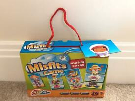 Children's Board game - Misfits Matching Game - BRAND NEW