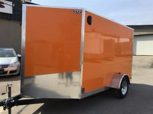 2017 Canadian Trailer Company 6'x10' V-Nose Cargo Trailer