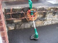 QUALCAST ELECTRIC GRASS STRIMMER IN EXCELLENT WORKING ORDER