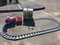 6v power ride on train and track