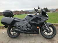 2014 CFMOTO 650TR -WK SPOTLESS BIG TOURING BIKE ONLY 2000 MILES MUST BE SEEN -FINANCE ETC £2650