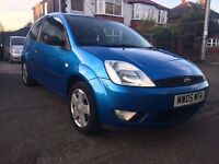 2005 FORD FIESTA 3 DOORS-1.2,TWO OWNERS,99000 GENUINE MILES,MOT SEP.2017(NO ADVISORY),HPI CLEAR