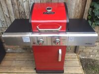 Outback Red Jupiter 2 Burner Gas Barbeque BBQ - Brand New in Box RRP £300