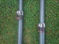 awning poles