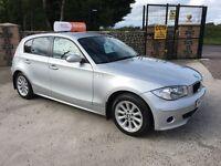 Late 2006 BMW 1 Series 116i 5 Door **Low Mileage** *Warranty* (a3,golf,leon,mini)