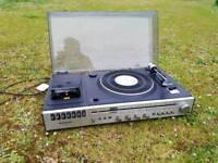 Panasonic turntable and cassette player retro