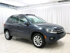 2013 Volkswagen Tiguan 4MOTION SUV LEATHER AND SUNROOF
