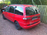 1999 Ford Galaxy 2,3 16v LHD German papers