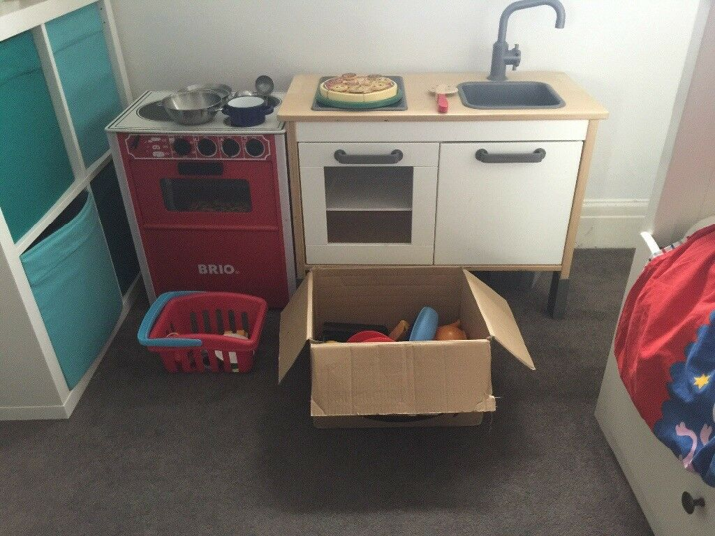 Brio And Ikea Toy Kitchen With Lots Of Accessories In Hove East