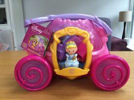 MEGA BLOCKS DISNEY Princess Cinderella Carriage - Age 1-5 Years
