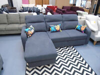 Brand New Sofa Bed. Right Handed Chaise. Great Bed And Well Made. 250cm by 155cm H85cm. RRP £699