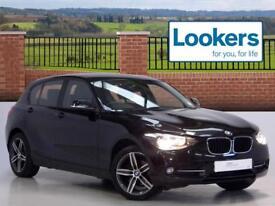 BMW 1 Series 116D SPORT (black) 2014-09-09