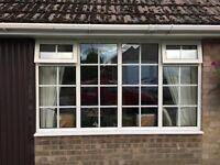 Four Double Glazed window units