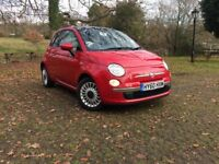 Fiat 500 1.2 Lounge 3dr - Full Service History - Only Two Owners From New - Only £30 Road Tax
