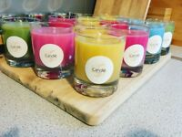ORGANIC CANDLES - 100% HANDMADE - AMAZING GIFT + FREE DELIVERY