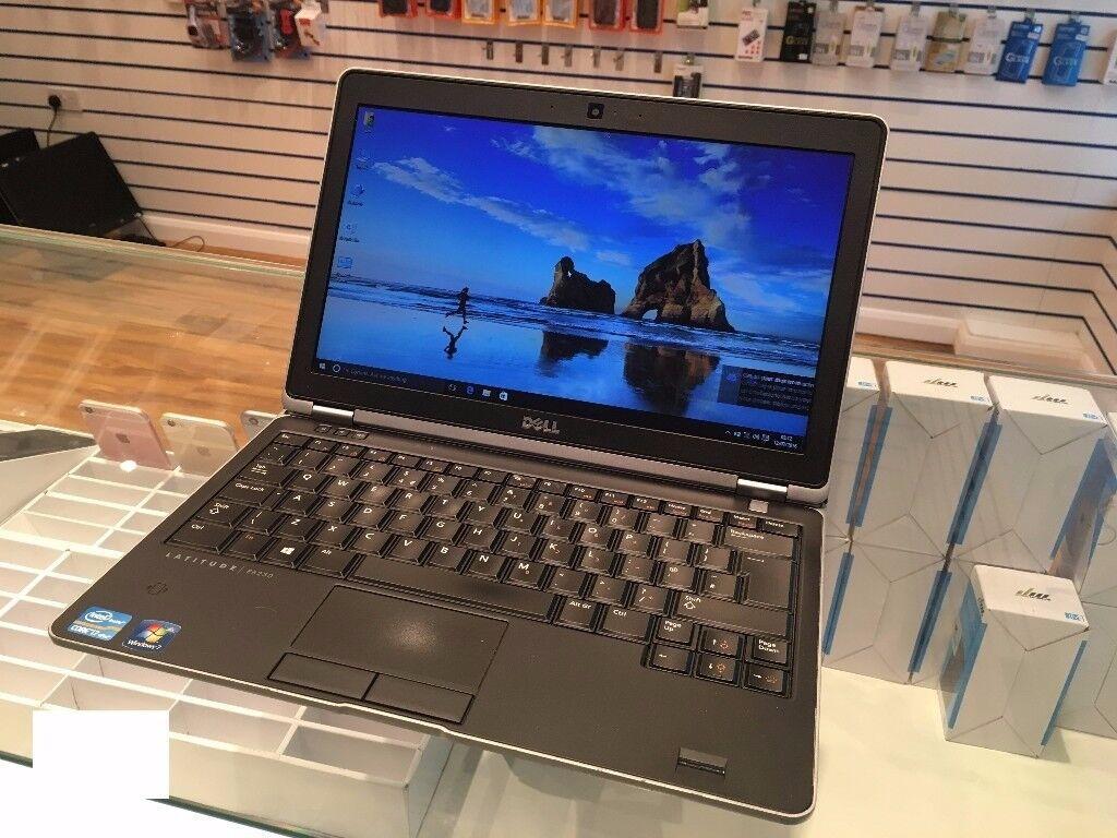 Dell 6230 12.1'' Core i7 2.90GHz, 4GB RAM , 128SSD, Windows 10 Pro, Microsoft Office 2010