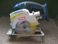 Ryobi CCS 1801 Cordless Circular Saw Laser Class 2 with Blade - Body Only
