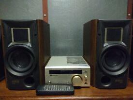 HIGH-END STEREO SISTEM KENWOOD RECEIVER R-SE97 MADE IN JAPAN+SPEAKERS LS-SE9 IN VERY GOOD CONDITION