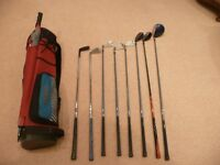Golf bag and equipment with PGA Collection Clubs