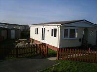 2 bed and 3 bed static caravan and Park Homes at St Merryn , Nr Padstow, Cornwall