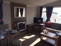 Gorgeous luxury caravan holiday home at Looe Bay Holiday Park in Cornwall