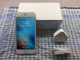 IPhone 6, 16 Gb Gold on Vodafone, in immaculate condition.