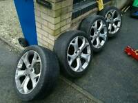 Cosra VXR alloy wheels