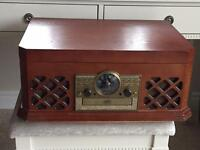 Zennox Wooden Brown Retro 6 in 1 Music Centre System Hi Fi CD Player MP3 USB.......