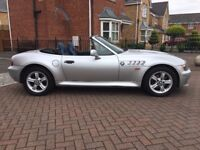 2000 X BMW Z3 2.0 V6 2DR CONVERTIBLE IMMACULATE AT BARGAIN PRICE