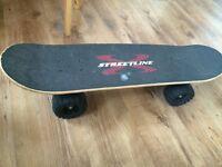 Skate with big wheels 4x4