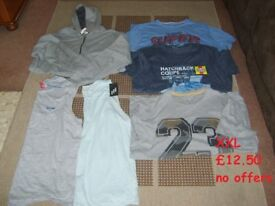 mens clothes size xxl some never worn smoke and pet free home collection from didcot