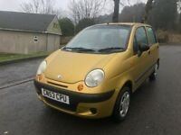 GRAB A BARGAIN DEAWOO MATIZ SE 34K FSH ONE OWNER NEW MOT