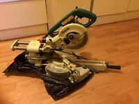 Makita mitre saw used few time.110v