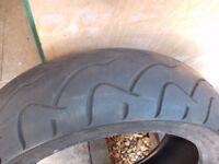 dunlop rear tyre