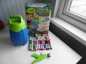 Crayola Marker Airbrush Includes 25 Markers