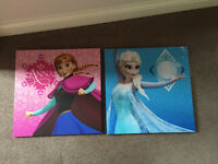 Frozens Anna and Elsa Canvas