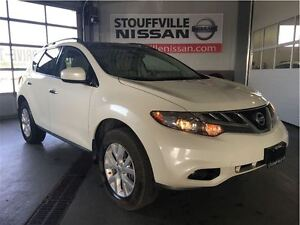 2011 Nissan Murano SV Alloy Wheels and Power Sunroof