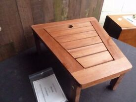 Brand new Small Wooden Outside Low Coffee Table Delivery available £4
