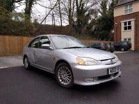 HYBRID Petrol and LPG 2003 Honda Civic 1.3
