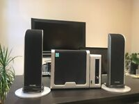 Used Microlab 2.1 Audio System with remote control