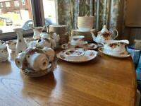 Royal Albert Old Country Roses Tea set 80+ pieces